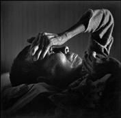 W. Eugene Smith  JAPAN. Minamata. Bunzo HAYASHIDA, a victim of the Minamata Disease. 1971.