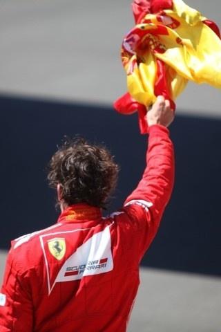 Fernando Alonso Flag