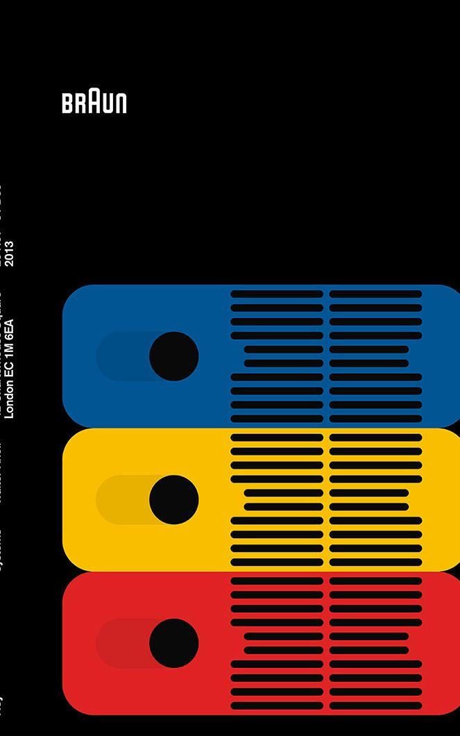 4   34 Posters Celebrate Braun Design In The 1960s   Co.Design   business + design