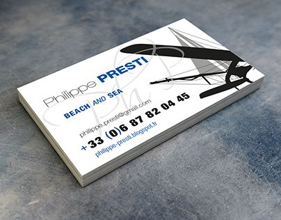 """Check out new work on my @Behance portfolio: """"Presti Business card"""" http://on.be.net/1M9BbdM"""