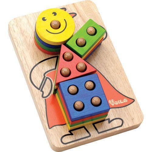 Colourful clown puzzle!
