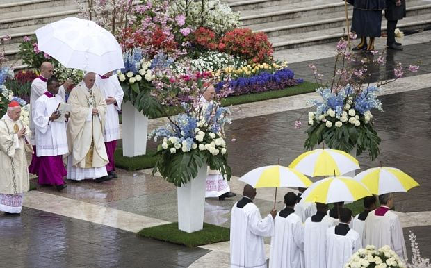 Easter Sunday messages - live - Telegraph