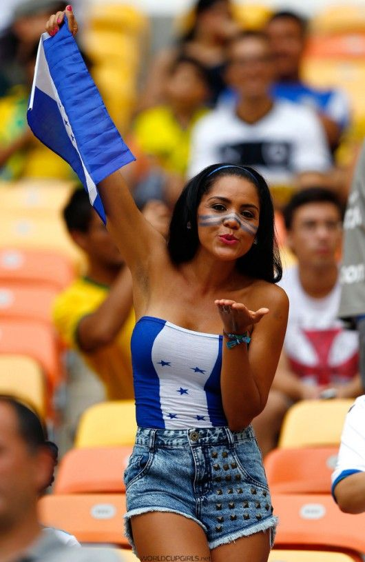 #WorldCup GIRL OF THE MATCH: #Honduras