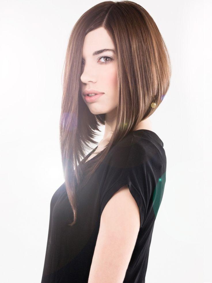 Картинки по запросу нестандартные стрижки на длинные волосы