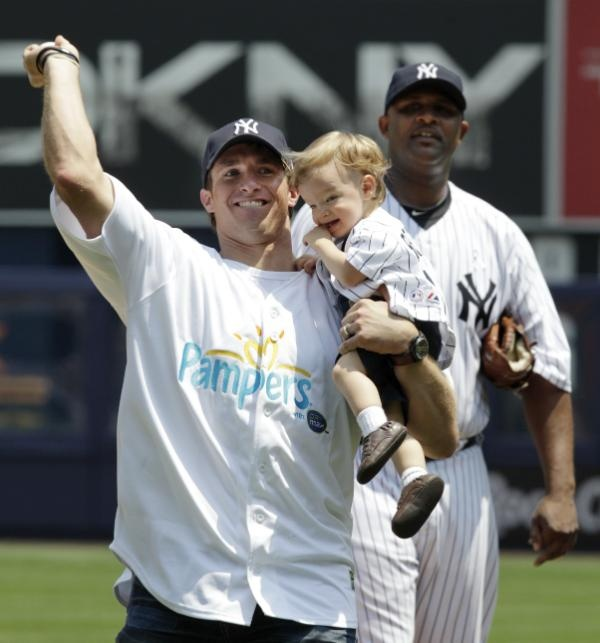 drew brees and son :)