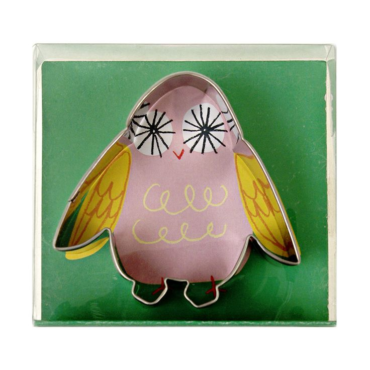 Serve biscuits with a scoop owl ice cream (not really!) Little Owl Cookie Cutters £3.00