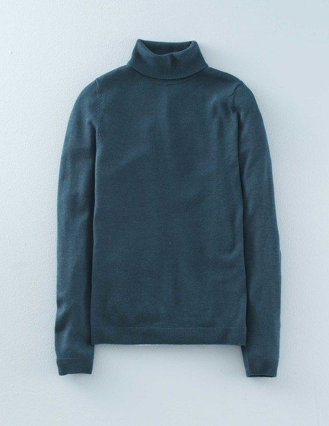 Fitted Roll Neck Jumper
