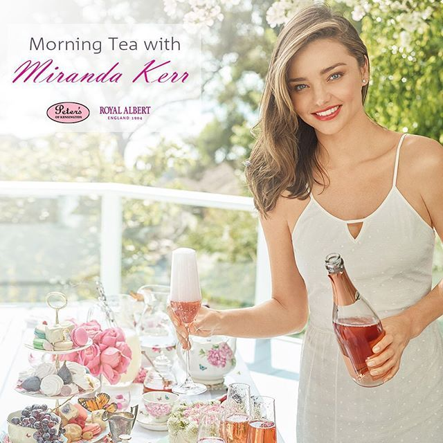 Peter's of Kensington is proudly hosting morning tea with Miranda Kerr on Friday 18th December from 10-12 pm. We are celebrating Miranda's beautiful new collection for Royal Albert. Held at a 5 star Sydney hotel, don't miss out on your chance to spend the morning with Miranda Kerr. Go to www.petersofkensington.com.au to book your tickets @mirandakerr @royalalbertaus #mirandakerr #royalalbert #petersofkensington