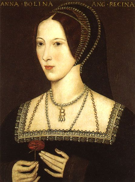 A copy of a 1534 portrait of Queen Anne Boleyn. Description from beingbess.blogspot.ca. I searched for this on bing.com/images