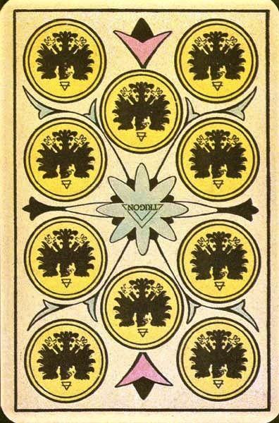 10 of coins tarot