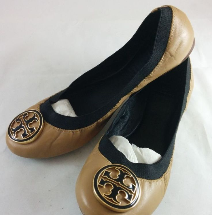 Tory Burch Leather Polka Dot Ballet Flats for Women