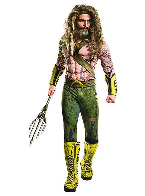 Aquaman Kostüm ★ Superhelden Kostüm online kaufen ★ maskworld.com  #superheld #superhero #justiceleague