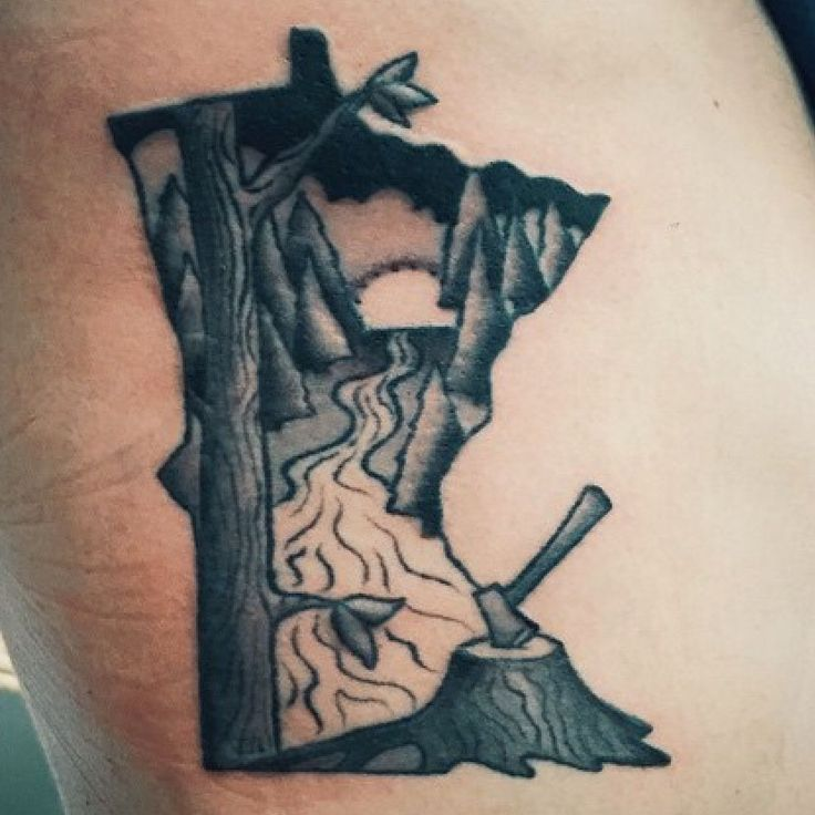 25 Meaningful Tattoos For Introverts: 25+ Best Ideas About Minnesota Tattoo On Pinterest