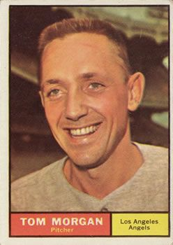 1961 Topps #272 Tom Morgan Front