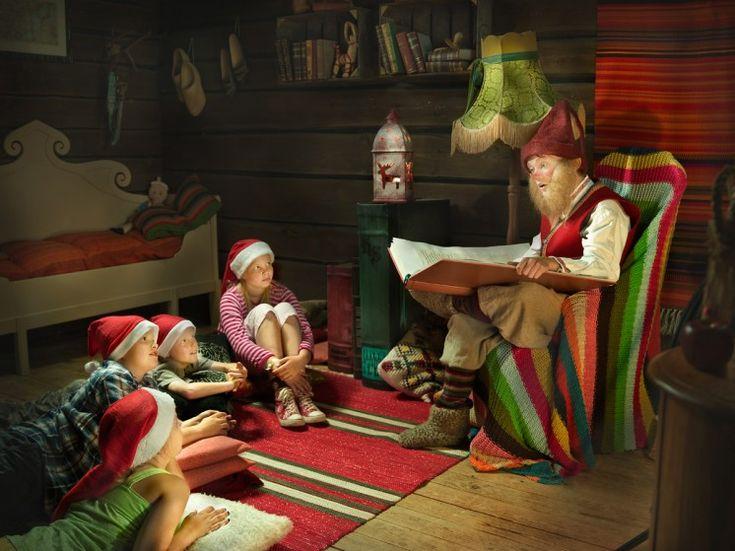 Elf school in Santapark.