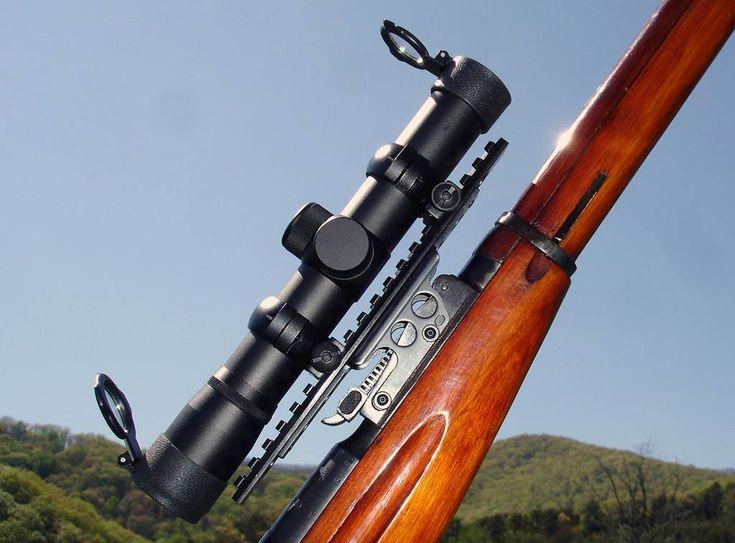 Mosin Nagant M9130 or M9159 See Thru Scout Scope Mount :: M9130 M9159 Scout Scope Mount :: Mosin Nagant Platform Products, 7.62x54r :: Brass Stacker™