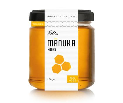 Blis was looking at importing Manuka honey from the beautiful Abel Tasman National Park in New Zealand. It had to reflect a high end premium design, as the MGO rating of this product was going to be +545, 100% Pure & Natural© Bio Active Raw Manuka Honey…