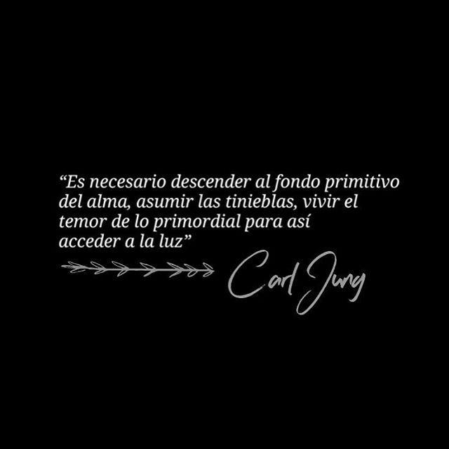 Descender a nuestro inframundo... Carl Jung