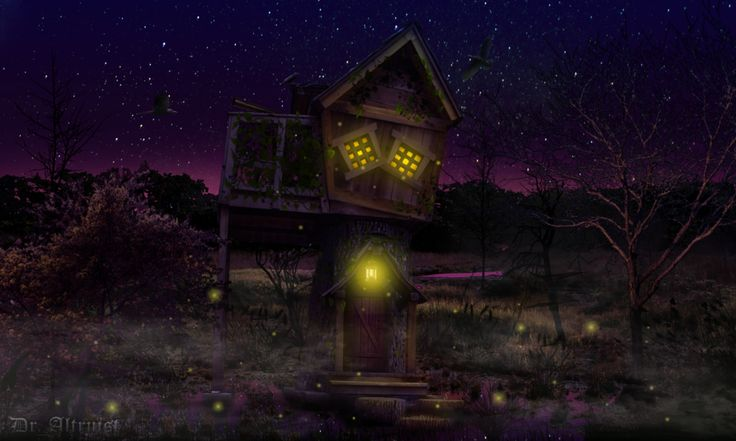 Magician's hut by DrAltruist on DeviantArt
