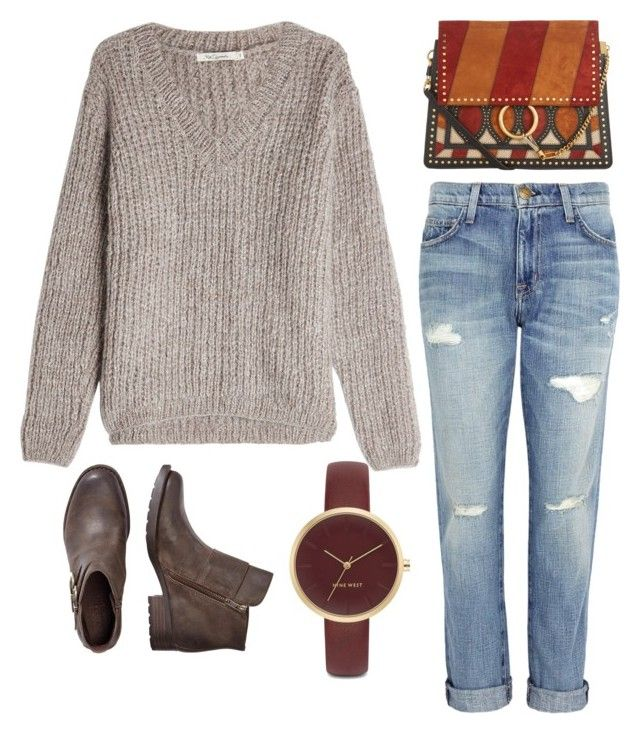 Untitled #15 by nafisa52646 on Polyvore featuring polyvore fashion style Mes Demoiselles... Current/Elliott Chloé Nine West clothing