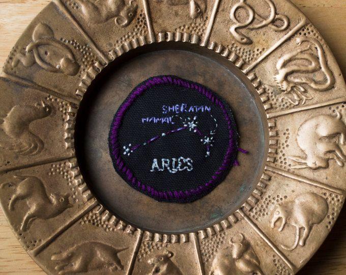Bordadas de parche de la constelación de Aries
