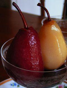 recette des poires au vin