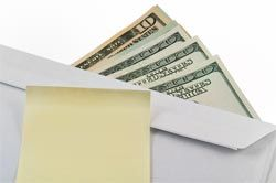 Envelope budgeting system.