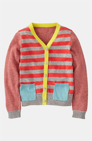 So Great for both    Mini Boden 'Hotchpotch' Cardigan (Little Girls & Big Girls) | Nordstrom