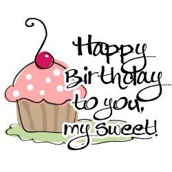 Happy Birthday My Sweet