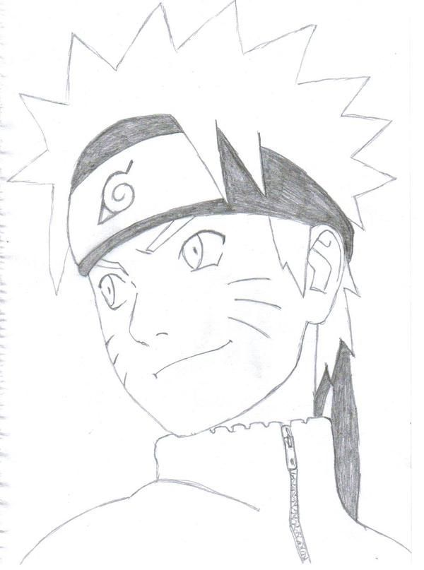 Anime Sketch Easy Naruto Shippuden By Sasram On Deviantart Naruto Sketch Drawing Naruto Drawings Anime Drawings Sketches