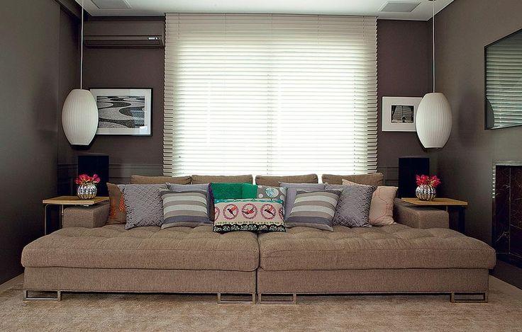 Aposte na simetria para ter um espaço sofisticado. Dica do escritório In House