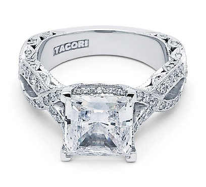 I heart this ring from TACORI! Style no: HT2606PR85