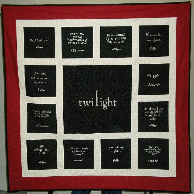 28 best images about twilight quilts on Pinterest I love mom, Quilt and Trucks