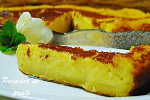 Tarte queijadinha
