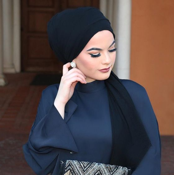 How To Wear Hijab Styles Step By Step In 28 Different Ways - Fouzia Butt