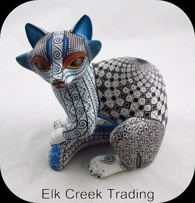 """15+"""" Collectible Oaxacan Wood Carving Mexican Folk Art Alebrije Madagascar Lemur   Collectibles, Cultures & Ethnicities, Latin American   eBay!"""