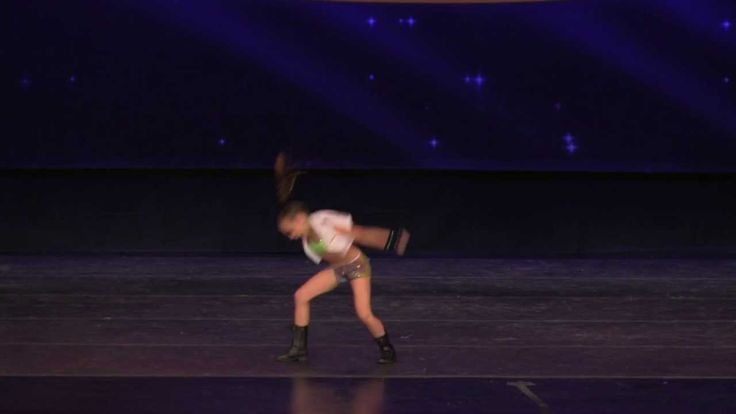 1st Ever Hip Hop Solo for Kaycee Rice - WERK! 2013 - Choreo by Tricia Miranda
