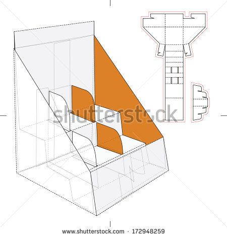 box templates free paper display stand box template no01 free