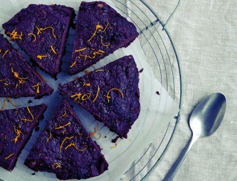Chokolade-krokantkage   Opskrift af Anne Bech