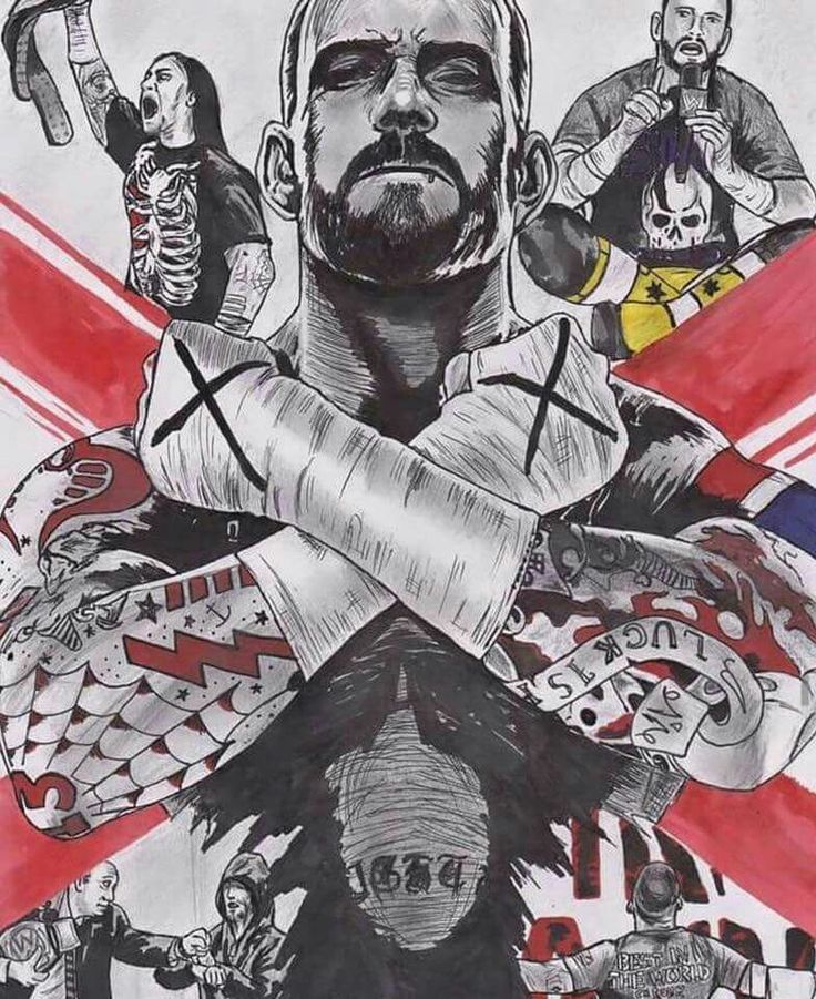 Cm punk Live the Revolution