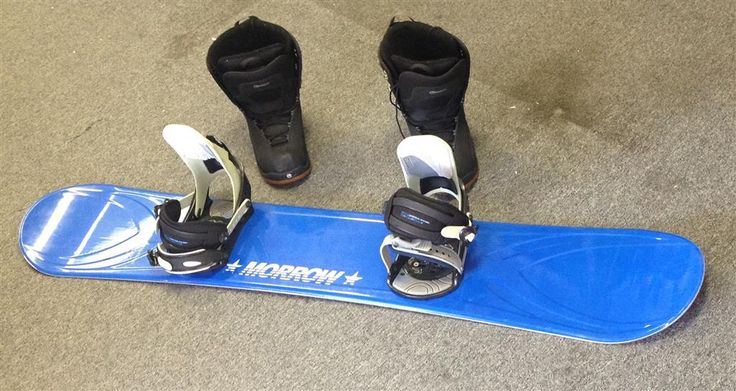 Morrow Snowboard and Pair of Snowboarding Boots