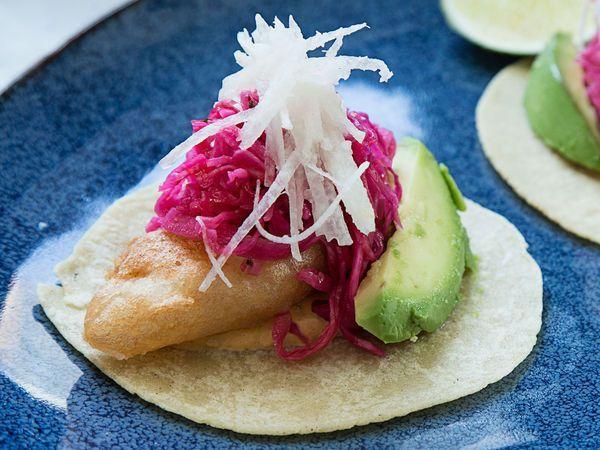 Jose Garces' Fish Tacos | SAVEUR