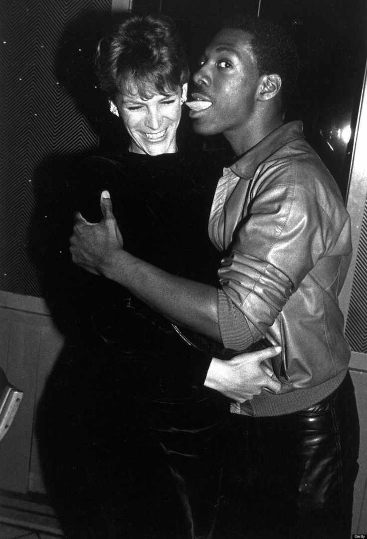 Jamie Lee Curtis and Eddie Murphy in 1983.