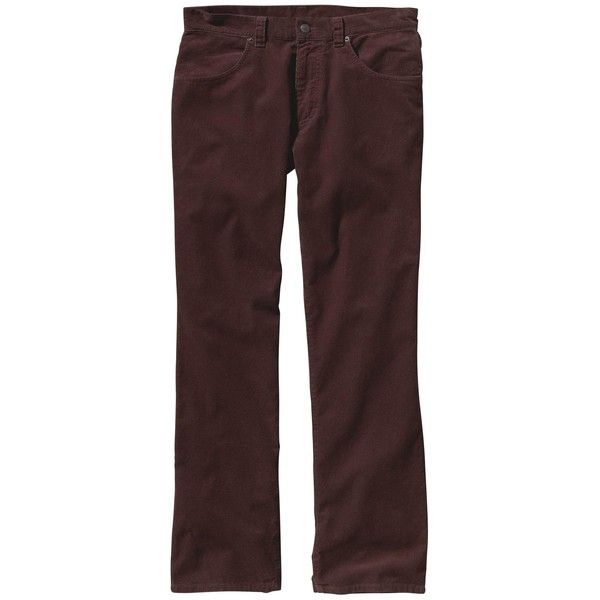 "Patagonia Men's Cord Pants - 32"" Inseam ($62) ❤ liked on Polyvore featuring men's fashion, men's clothing, men's pants, men's casual pants, java brown, patagonia mens pants, mens zip off pants, mens corduroy pants, mens brown corduroy pants and mens short pants"