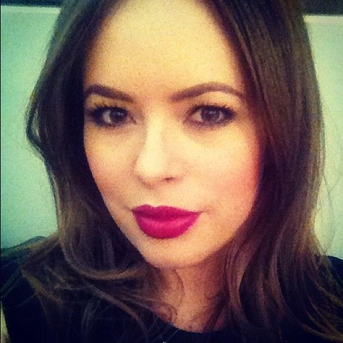 Lovely makeup (MAC Rebel lipstick) @Whitney Clark Webb what do you think about this one?