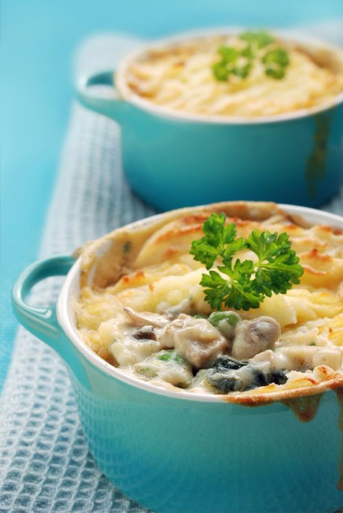 Completely fish free Vegetarian Ocean Pie from The Vegetarian Society (as seen on Hairy Bikers)
