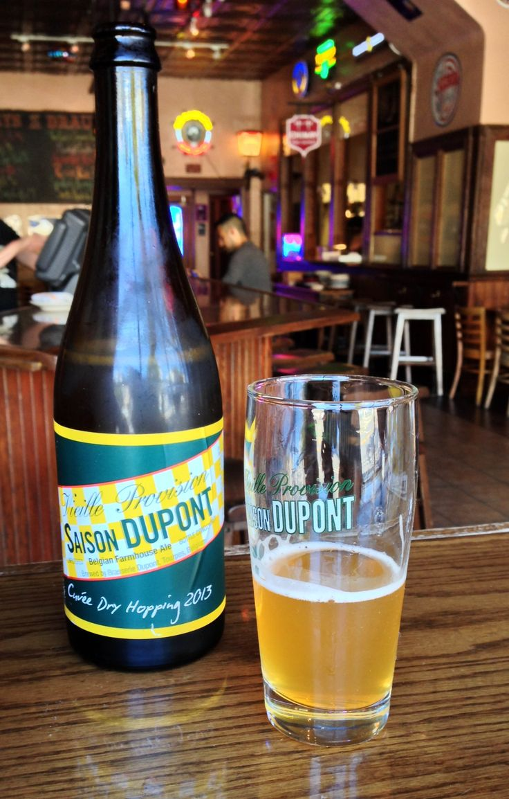 SAISON DUPONT CUVÉE DRY HOPPING 2013  After 5 years of making Belgians extremely happy with their special seasonal release a dry-hop  version of Saison Dupont, Vanberg & DeWulf and Brasserie Dupont are now able to make American drinkers equally happy.