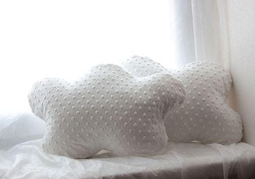 obláčky, cloud pillows