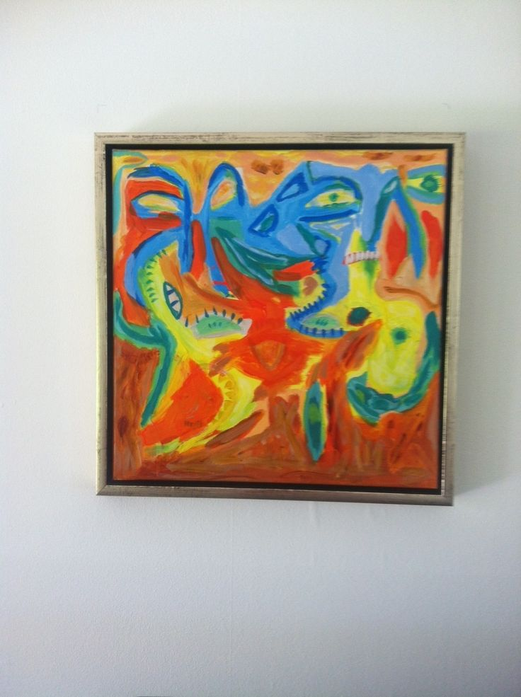 Creature del mondo...  Acryl - 40x40 cm