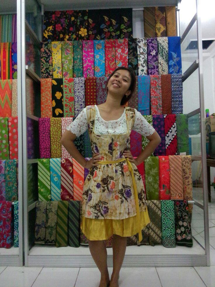 Dirndl batik by me